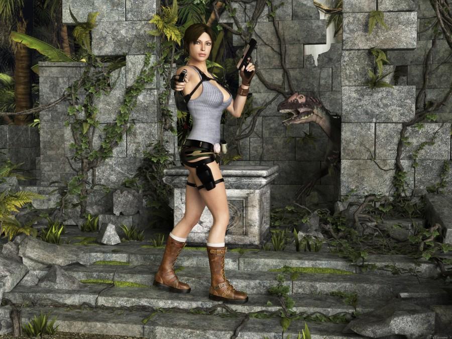Приключения Лары Крофт в джунглях